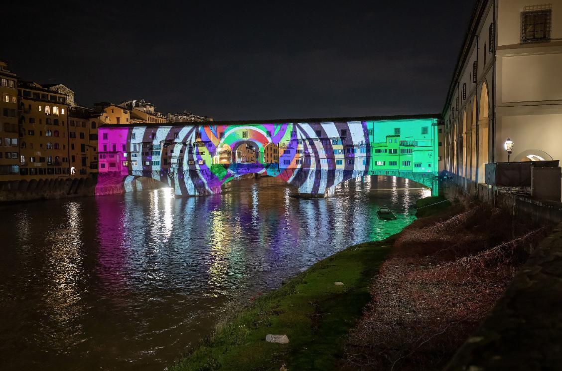 Florenz erstrahlt im Licht des F-Light-Festivals 2020